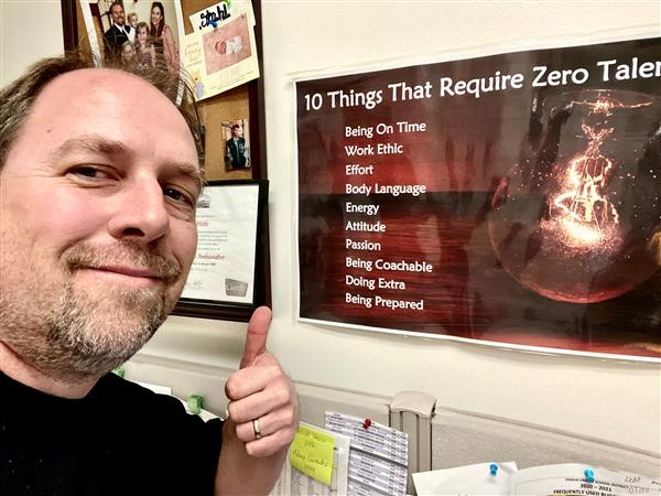 Mr. Stahl's 10 Things That Require Zero Talent